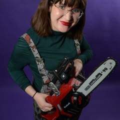 From 'Bex's Chainsaw Moussaka' photoshoot.